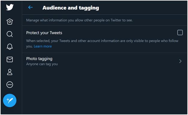 comment cacher les likes sur Twitter