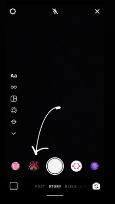 Steps to save the Disney filter on Instagram