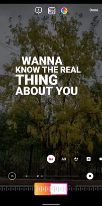 Speel liedjes af op je Instagram verhaal