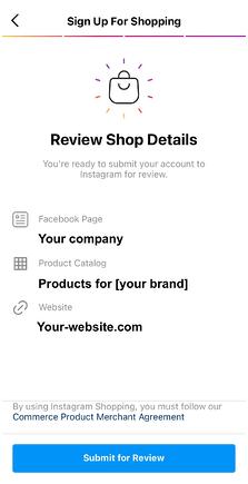 make sales on instagram