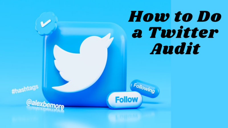 How to Do a Twitter Audit