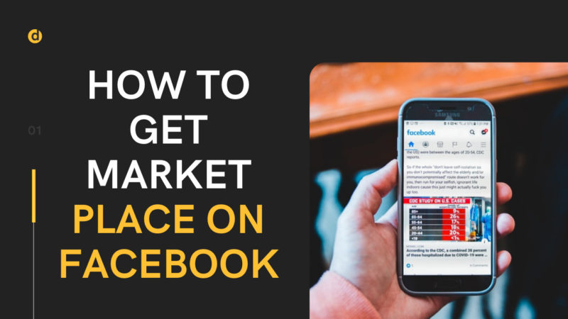 How to get marketplace on Facebook