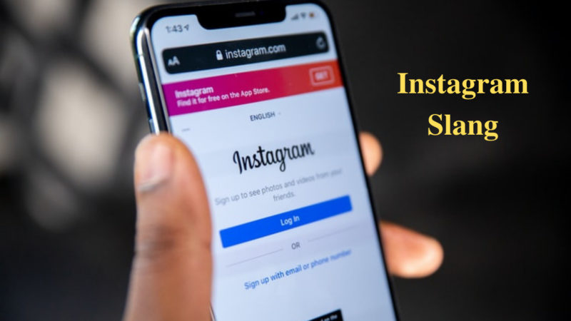 Instagram Slang