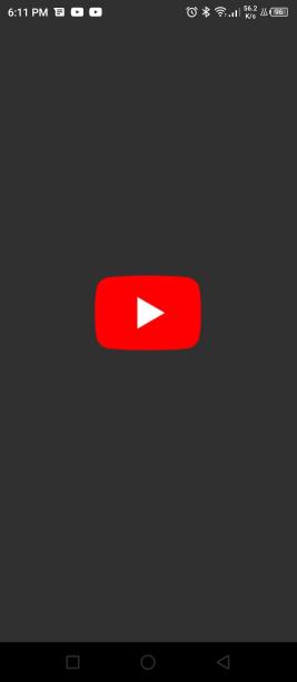 Start je YouTube applicatie