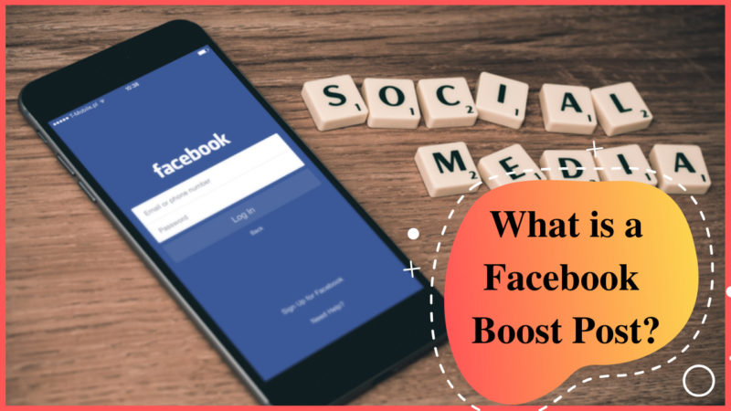 what is a Facebook boost post