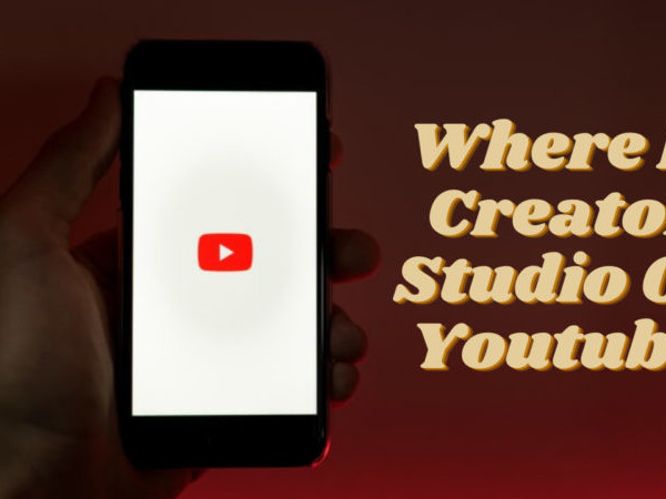 Where Is Creator Studio On Youtube