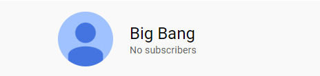 Your subscriber count