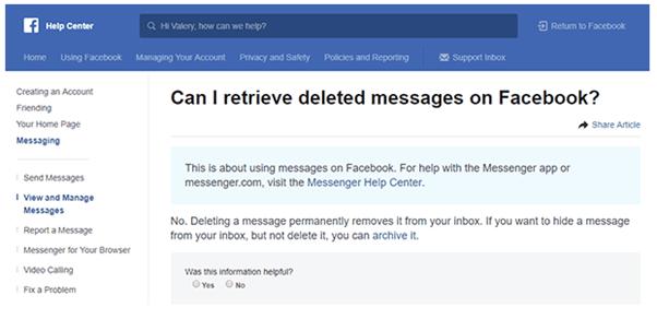 hoe Facebook bericht verwijderen