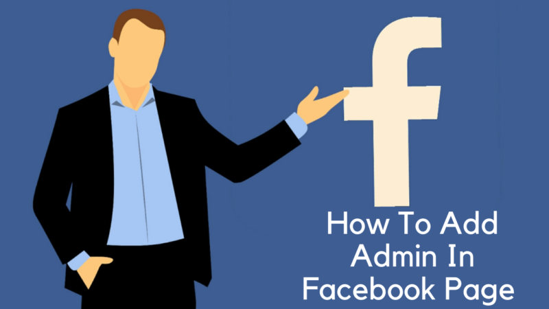 how to add admin in facebook page