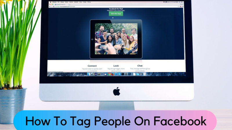 how to tag people on Facebook.