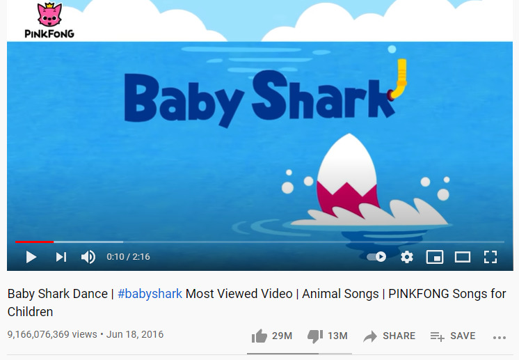 Baby Shark Dance - Pinkfong
