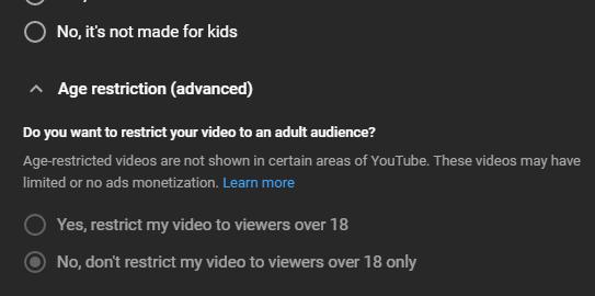 Hoe leeftijdsbeperkte video's op YouTube bekijken