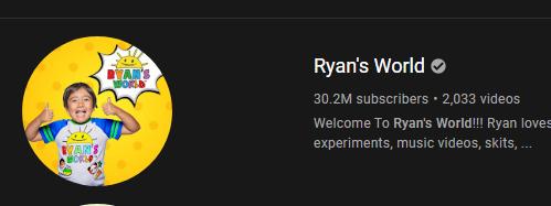 wie is de rijkste youtuber