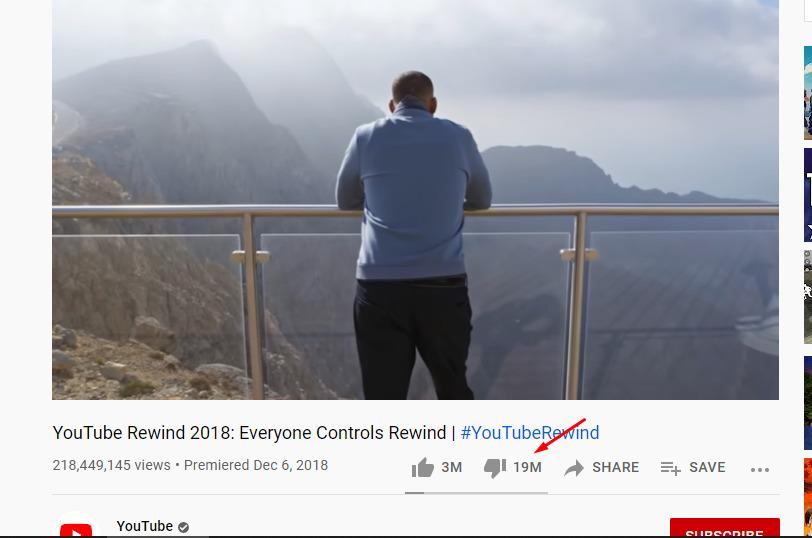 YouTube Rewind 2018 Everyone Controls Rewind