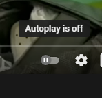 Turning off YouTube Autoplay via PC or Laptop